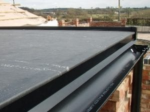 Downpipe and Guttering Epdm roofing