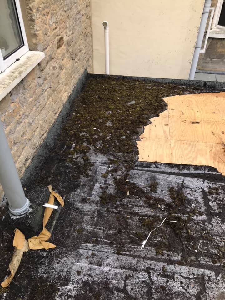 fixing flat roof